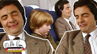 Mr. Bean im Flugzeug
