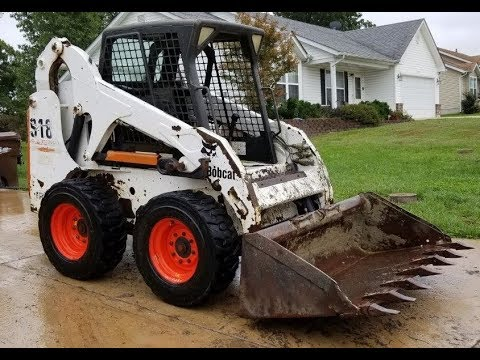 S185 Bobcat Skid Steer 4046 Hour Complete Restoration Process (Except Painting & Stickers)