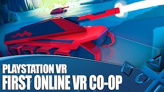 Battlezone PSVR Gameplay - We play online Co-op in VR!