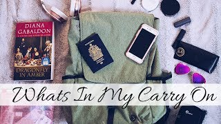WHAT'S IN My CARRY-ON BAG 🎒 |   Flight Essentials!