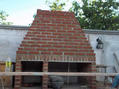 Horno y asador de ladrillos tuclame youtube - Construccion de chimeneas de ladrillo ...