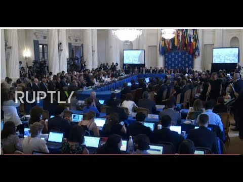 LIVE: OAS foreign ministers meet on Venezuelan crisis