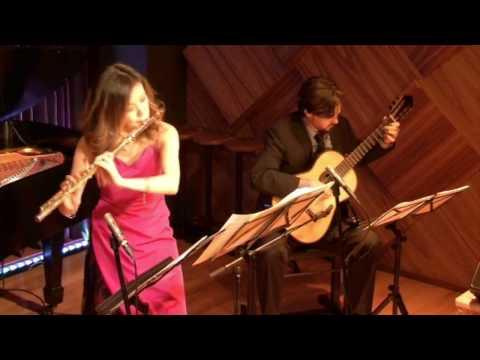 Kaori Fujii & Eric Cecil Duo: Wave by A.C. Jobim
