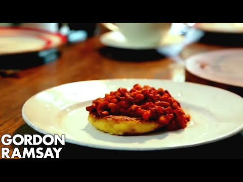 Homemade Spicy Baked Beans with Potato Cakes | Gordon Ramsay