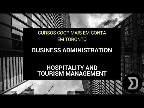 Cursos COOP - Business e Gerência Hospitalidade e Turismo