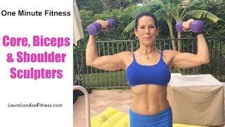 Core, Bicep & Shoulder Shaper | #LauraLondonFitness