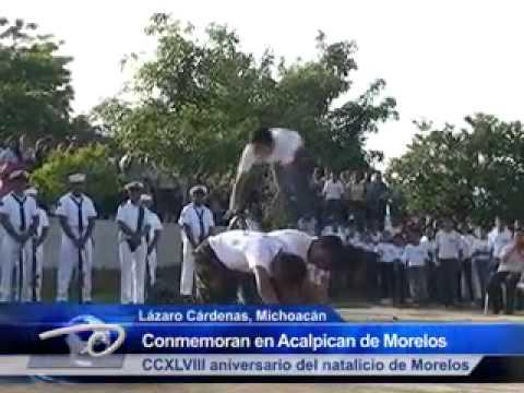 Lzc Mich Conmemoran En Acalpican Ccxlviii Aniversario Del