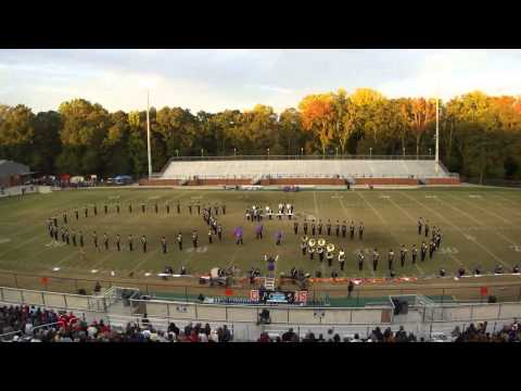 Union County High School Pride of the Mountains Marching Band Competition @ Lake Hartwell 10/20/2012