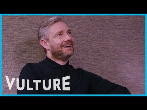 Martin Freeman Pitches His New Film Cargo to Some cy 'Executives'