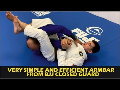 Very Simple And Efficient Armbar From BJJ Closed Guard by Giancarlo Bodoni