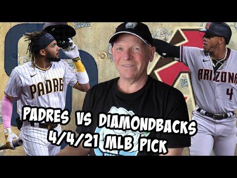 San Diego Padres vs Arizona Diamondbacks 4/4/21 MLB Pick and Prediction MLB Tips Betting Pick