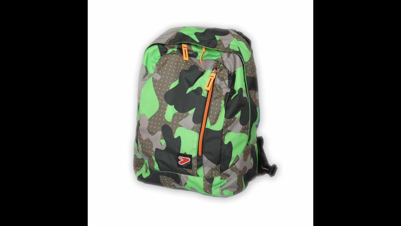 cba98ef4ef Zaini Seven Reversibili Double Pack Scuola - Verde Blu Grigio Rosa Viola  Nero Camouflage