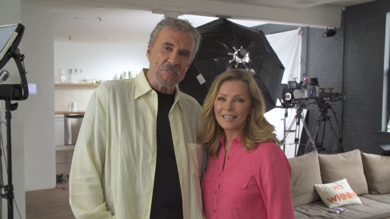 Behind The Scenes Actress Cheryl Ladd And Brian Russell