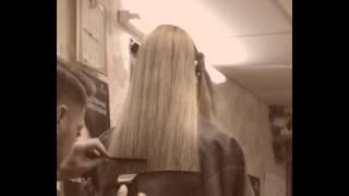 Стрижка на длинные волосы... подравниваем кончики... Валерий Баранов - Просто о Сложном.