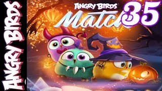 Halloween spooky challenges - Angry Birds Match - Gameplay #35