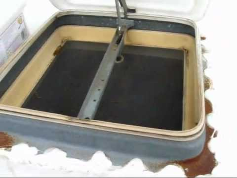 Replacing The Rv Roof Vent Gaskets Youtube