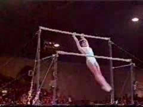 Nadia Comaneci - Moskow, Summer Olympics, 1980
