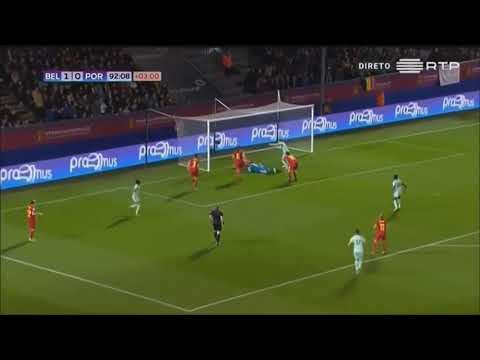 Jessica Silva amazing nutmeg vs Belgia HD