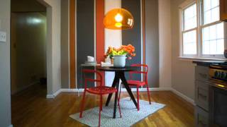 Modern And Contemporary Orange Dining Rooms