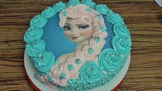 Tort Elsa z Krainy Lodu #3 / Frozen/ Kasia ze slaska gotuje