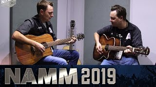 The Alvarez Artist Elite Guitars at NAMM 2019