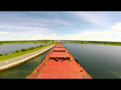 St Lawrence Seaway Dawn Till Dusk