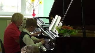 Выступление в музыкальной школе 7 апреля 2018 г.