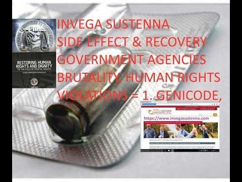 INVEGA SUSTENNA®-Human Rights Violations=Chemical lobotomy, SIDE EFFECT