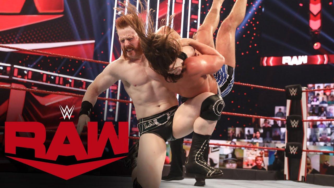 Matt Riddle vs. Sheamus – Survivor Series Qualifying Match: Raw, Oct. 26, 2020