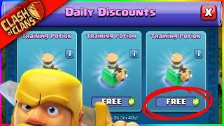 GEM TRADER GIVES ME FREE STUFF? (Thanks Clash of Clans!!!)