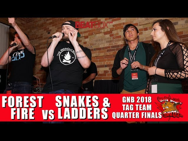 Forest Fire vs Snakes & Ladders | GNB 2018 | Tag Team - Quarter Finals