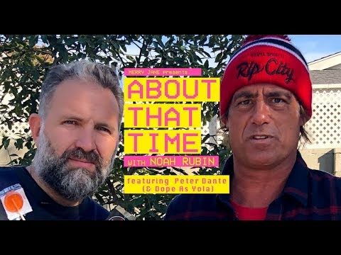 Actor Peter Dante Talks Getting In the Edible Game & Catching Your Kids Smoking  ABOUT THAT TIME