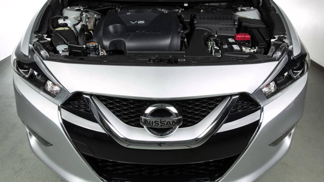 2015 Nissan Maxima >> 2016 Nissan Maxima - Hood Release - YouTube