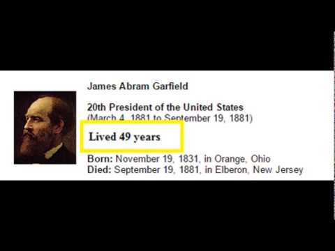 9 US Presidents who died at a very young age! God Bless America! American History Education videos