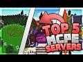 Top 5 Best MCPE Servers 2019 1.12+ / Minecraft PE (Pocket Edition, Xbox, Windows 10)