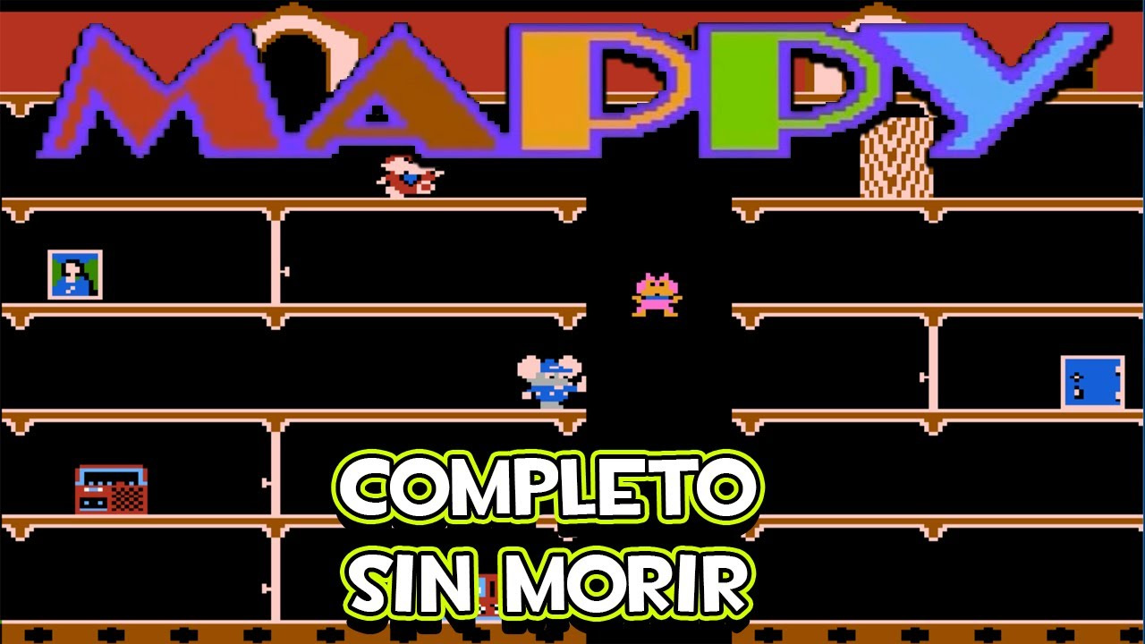 Download NES Mappy - Completo (Ronda 20, Sin Morir)
