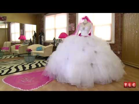Gypsy Wedding Dress Cost,Dressmaker and Designer - YouTube