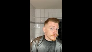 EASY SELF HAIRCUT! quİck guide on a self-fading tutorial for a clean haircut.
