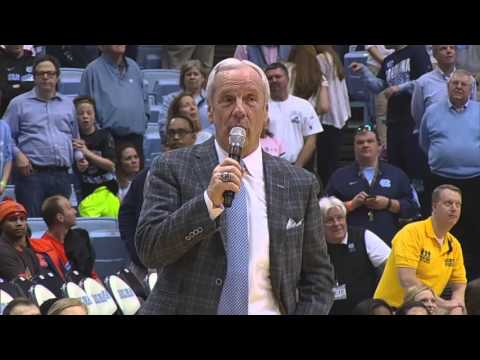 UNC Men's Basketball: Coach Roy Williams Senior Night Speech - 2016