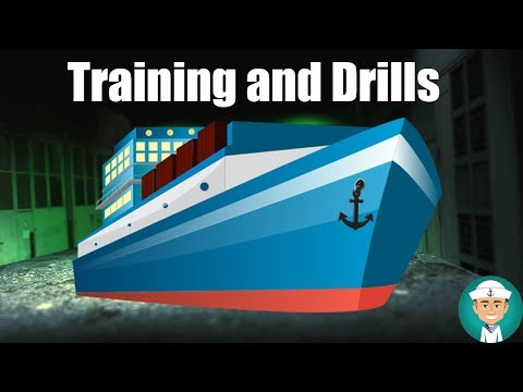 Training and Drills Required by the Ship Security Plan