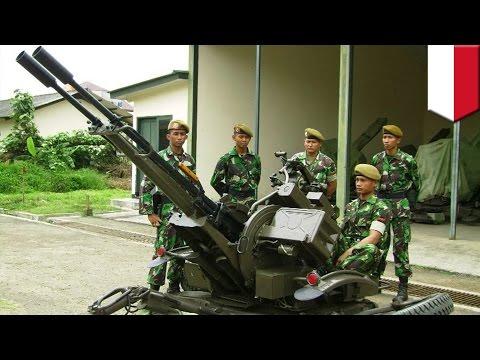 Made in China: 4 prajurit TNI AD gugur saat latihan tembak menggunakan meriam buatan Cina - Tom
