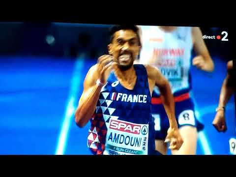 Mourad Champion Du 10000 M Championnat D'Europe 2018