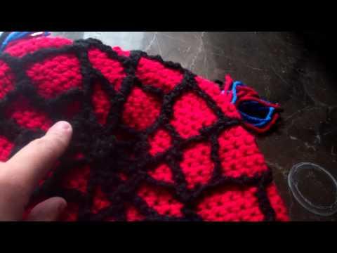 Spider-Man Amigurumi – Minasscraft Patrones Amigurumis | 360x480