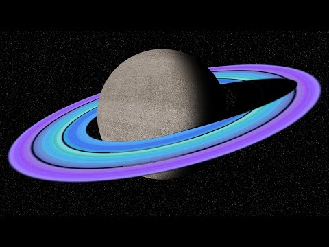 Photoshop Tutorial: PART 1:  How to Make Saturn with Custom Rings in Deep Space