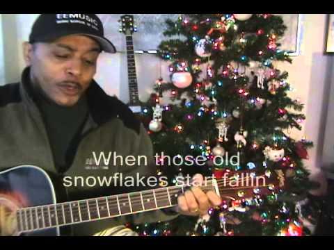 Elvis Presley Blue Christmas Sing Along Cover With Lyrics EricBlackmonMusic