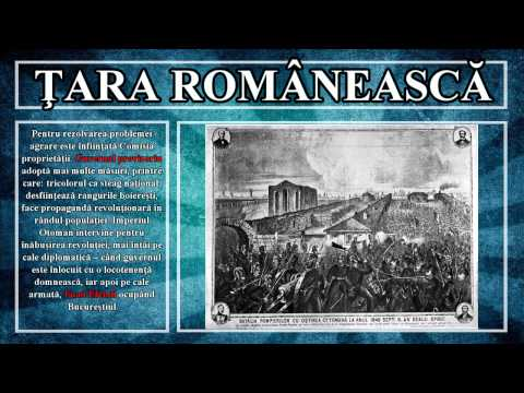 Lectia de istorie 14 - Revolutia de la 1848 in Tarile Romane
