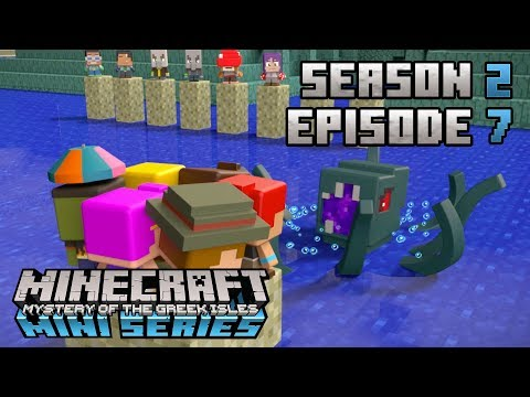 The Kraken Attacks!  Minecraft Mini Series: Season 2  Episode 7