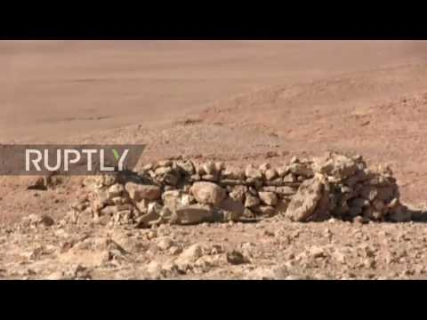 Syria: SAA make gains against IS in hills near Arak Gas Fields