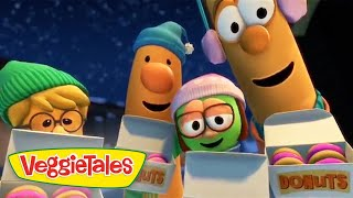 Veggie Tales | Donuts For Benny | Veggie Tales Silly Songs With Larry