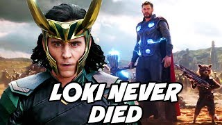 Loki is not Dead Confirmed by New Theory for Avengers Infinity War